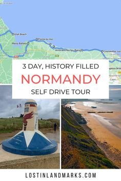 Self drive road trip to Normandy France to see the D-Day landing beaches, sites and museums. Road Trip Europe, Europe Travel Guide, Europe Destinations, France Travel, D Day Beach, Juno Beach, Normandy Beach, Normandy France, Brittany Ferries