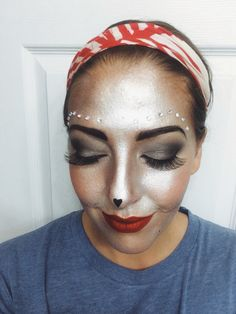 Wizard of oz theme makeup. Sexy tin man makeup airbrush