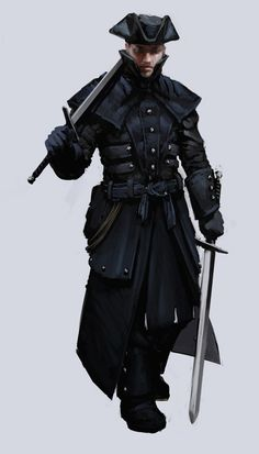I haven't yet created a highwayman archetype for Skrapyard, but this image strongly inspires me to do so.  Highwayman by SirHanselot.deviantart.com on @deviantART