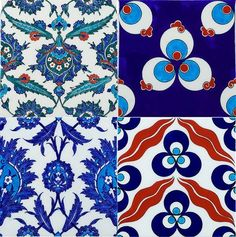 Iznik: Turkish Tiles and Ceramics. Historical information and useful links in comments