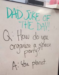 This joke of atmospheric proportions. | 27 Dad Jokes That Out-Dad Themselves