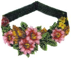 Flowers For Mom Weave Necklace