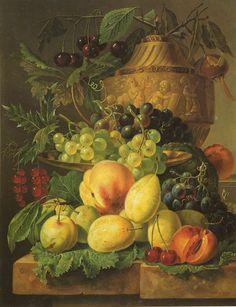 Fruchtestilleben, 1815 Wegmayr, Sebastian Painting Reproductions