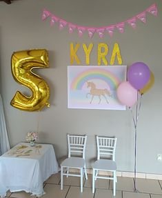 #partydecor #unicornparty #kidsparties #themedparties