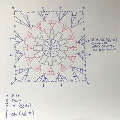 """Flowers in the Snow"" – Free Pattern #crochet #diagram"
