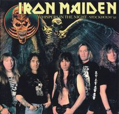 Iron Maiden 1992 Stockholm front