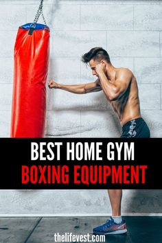 Having boxing equipment at home is one great way of building a home gym. Allowing you to build cardio strength and agility boxing equipment can keep you on your toes and energize you in ways other equipment can't. Boxing Gym, Boxing Training, Boxing Workout, Boxing At Home, Sports Training, Home Gym Equipment, No Equipment Workout, Fitness Equipment, Training Equipment