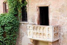 Romeo and Juliet Balcony in Verona Italy
