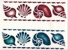 Free shell stencils