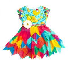 Vestido Bandeirinha - Bicho Brasil