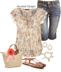 """""""Spring"""" by amabiledesigns on Polyvore...well this is cute :-)"""