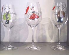 Dessin pour coupe de vin drole recherche google - Peinture sur plateau en verre ...