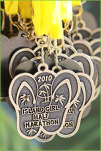 Island Girl half marathon, Toronto Island 44:56 for 10k.. finished 1st in age group and 15th overall female