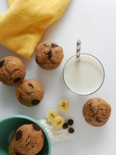 Chocolate Chip Banana Muffins | LC Living