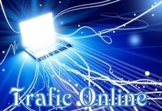 trafic online pe site