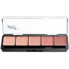 HD High-Definition Glamour Creme Palette, Blush