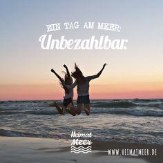 Ein Tag am Meer: Unbezahlbar! Mee(h)r >>