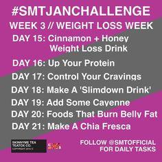 WEEK 3 // Weight Loss Week