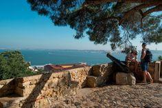 Bom dia Lisboa. Castelo de São Jorge Fotografia: Américo Simas #lisboa