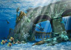 World's Largest Underwater #ThemePark to Open in Dubai. #LuxuryTravel #HolidayBlues