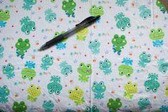 Ribbit Frogs Fabric
