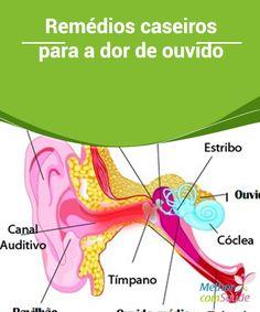 Remédios #caseiros para a dor de ouvido   A dor de #ouvido é algo muito comum, principalmente em crianças pequenas, o que é um grande #problema, visto que se auto #medicar nesses casos não é seguro.