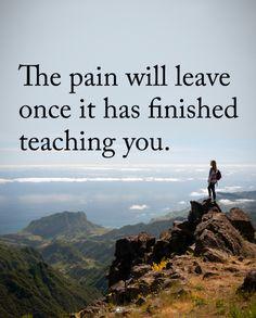 It will fade...
