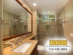 This Newport Beach homeowner decided it was time for a change and called in the Burgin team to remodel their bathrooms. You can see the transformation from outdated, dreary and dark to warm, well-lit, and inviting by clicking on the image below. Enjoy and share your thoughts in the comments!