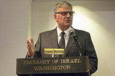 """""""I support Israel,"""" Franklin Graham said Thursday during the 13th Annual Israel Solidarity Event at the Israeli Embassy in Washington, D.C. """"I support Israel not only because I worship a Jew but because of what the Bible says about Israel and the future of Israel."""""""