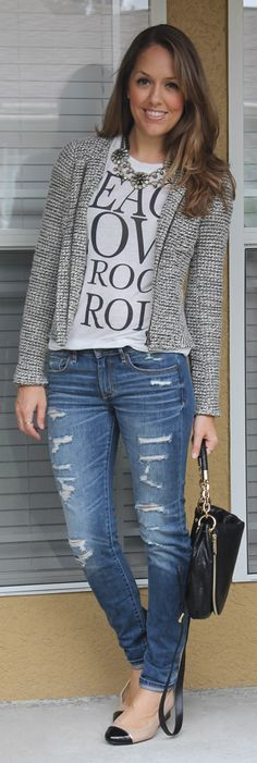 2/9/14From My Closet: 17 Outfits with Graphic Tees - Babble