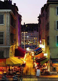 Restaurantes del callejón Fortia, Marsella