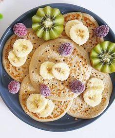 Des pancakes «healthy» aux flocons d'avoine…