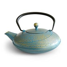 Huswell Cast Iron Teapot with Infuser 34 oz1 Litre * More info could be found at the image url.