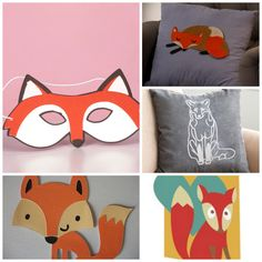 Baby Room Fox Cricut