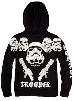 Star Wars Bring In The Stormtroopers Hoodie By Marc Ecko (Black) $79.00