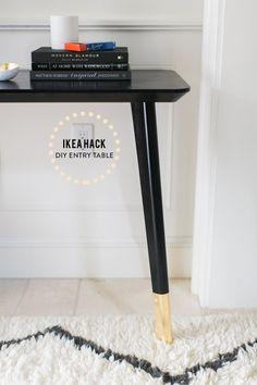 Ikea Hack: DIY Entry Table