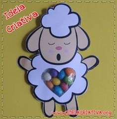 Sheep Crafts, Bible Crafts For Kids, Activities For Kids, Christian Crafts, Sheep And Lamb, Sunday School Crafts, Animal Crafts, Easter Crafts, Teaching Kids