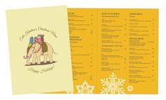 Ente Keralam - Christmas Menu Design Invitation Cards, Invitations, Menu Design, Cool Designs, Messages, Christmas, Xmas, Menu Layout, Weihnachten