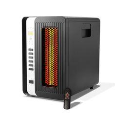Portable Infrared Heater Quartz 5200 BTU 1500W Remote Washable Air Filter Timer #PortableInfraredHeater