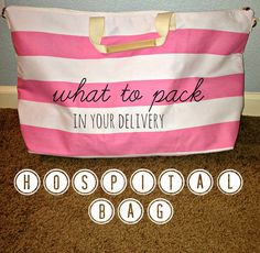 all things katie marie: Packing for the Hospital