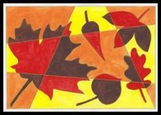 Listy – podzimní barvy