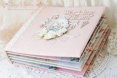 "Inspirasjon: The Wedding Album ""You and Me"" + gode nyheter ! Mini Scrapbook Albums, Wedding Scrapbook, Wedding Album Books, Handmade Wedding, Diy Crafts, My Love, Paper, Cards, Inspiration"