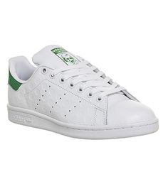 Adidas Stan Smith White Green Spot Embossed - Unisex Sports