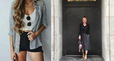 Mode mit Streifen ist wieder absolut im Trend! #News #Fashion