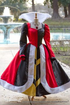 Queen of Hearts Villains Custom Costume Dress Gown by Bbeauty79 - Cosplay / Halloween