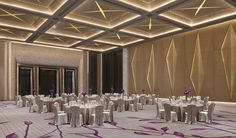The massive Grand Ballroom covers the largest ballroom in Shenzhen, and can be divided into three separate ballroom areas, each of which can host functions in a number of configurations,.