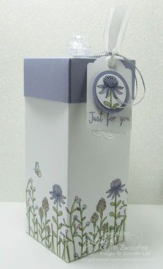 Flowering Fields, featured stamp set of the week at Song of My Heart Stampers.