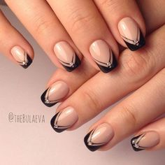 New French Manicure Designs to Modernize the Classic Mani ★ See more: http://glaminati.com/french-manicure-designs/ #beautynails