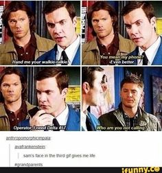 Sam, Dean, and Henry