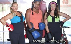 American  made....big girls get fit too